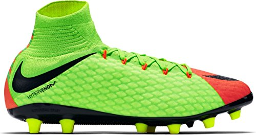 Soccer Football Phatal Mens Boots Agpro 860644 Hypervenom GREEN DF BLACK Cleats Nike III ELECTRIC x1HZ4Hq
