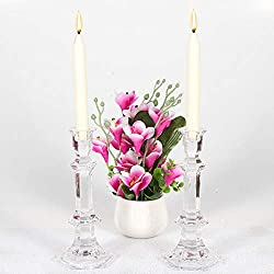BOLSIUS Set of 30 Ivory Tapered Candles 10 Inch -