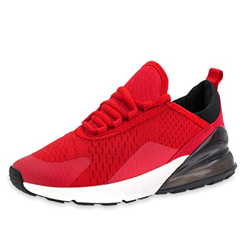 Herren Damen Strick Sneaker Turnschuhe Schnür Leichte Rot Laufschuhe Fitness Sportschuhe Unisex Knit Sock d5xTdw
