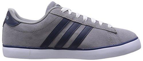 adidas Herren Freizeitschuh Sneaker DERBY VULC grau BLACK/WHT