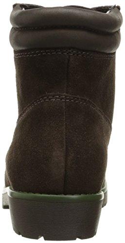 Lauren by Ralph Lauren Womens Mikelle Boot Dark Chocolate/Dark Chocolate Oilsuede/Super Soft Leather 57waHl