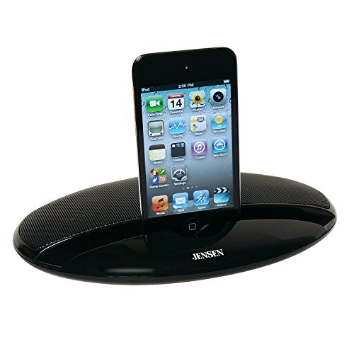 JENSEN SMPS-125 Portable Stereo Speaker For iPod/iPhone, MP3, Tablet, and Smartphone by Jensen (Image #3)