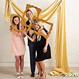 Gold Glitter Picture Frame Cutouts for Photo Booth
