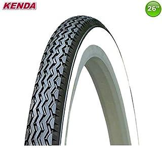 1 X Kenda K-133 Housse de Vélo Pneu Manteau Noir/Blanc - 37-590 (26 X 1 3/8)