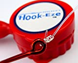 Hook-Eze helps guard against painful injuries & torn upholstery. Ideal for travelling & storing fully rigged rods, it even comes complete with stainless steel fittings & a line cutter to trim up to 150lb mono & heavier braided...