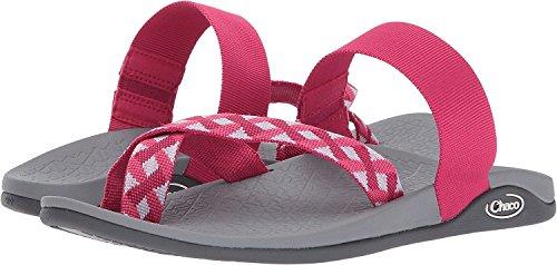 Chaco Damen Tetra Cloud Athletic Sandale Zopf Berry