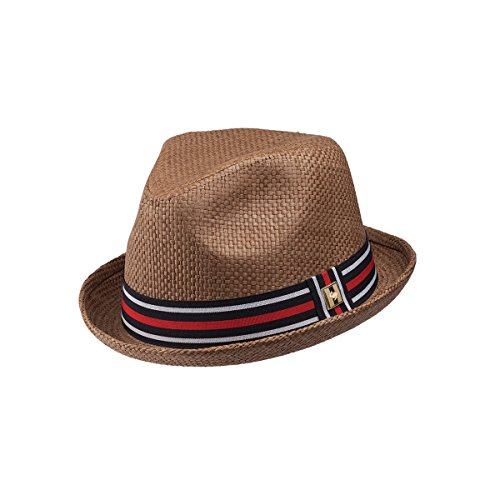 Peter Grimm Depp Natural Straw Fedora - Brown ()