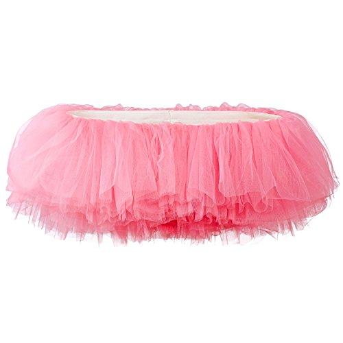 My Lello Women's, Teen, Adult 10-Layer Ballet Tulle Tutu Skirt -Bubblegum Pink
