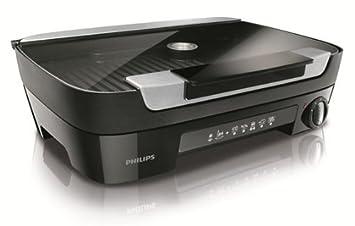 Philips HD6360/20 Avance - Parrilla de mesa, 5 niveles, tapa ...