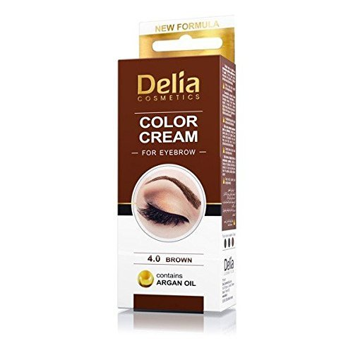 DELIA HENNA / COLOR CREAM EYEBROW PROFESSIONAL TINT KIT SET Brown - Professional Henna