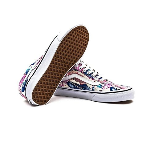 Scarpa 0 white multi Old 6 Skool Vans Tq6O8gwy