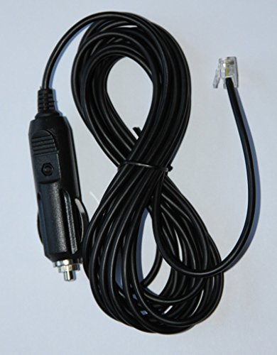 Beltronics / Escort Radar Detectors straight Power Cord 6ft phone style plug