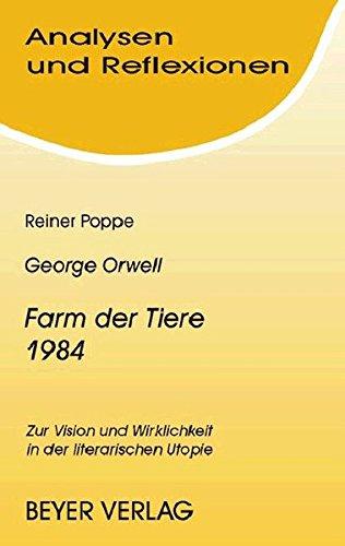 analysen-und-reflexionen-bd-72-george-orwell-farm-der-tiere-1984