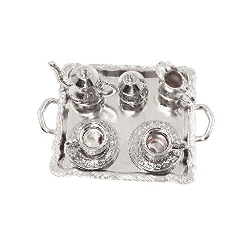 dollhouse silver tray - 2