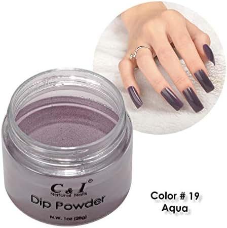C & I Dipping Powder Color No.019 Grape Purple Color System