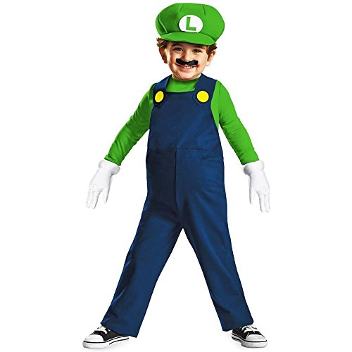 Disguise Nintendo Brothers Toddler Costume