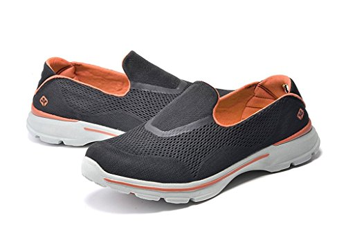 senximaoyi slippery wear-resisting a pedal mesh cloth shoes,Black,6.5