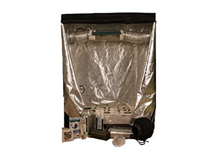 Hydroponics Starter Kit - Bud Buddy Complete Grow Tent / Grow Box with 400- watt  sc 1 st  Amazon.com & Amazon.com: Hydroponics Starter Kit - Bud Buddy Complete Grow Tent ...