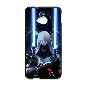 HTC One M7 Cell Phone Case Black Star WarsSLI_822064