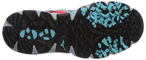 Capri Coral Chaussures Noir Kien 3 Wave Mizuno fiery Femmes Pied De Rose Pour Course Pqrw7CTP