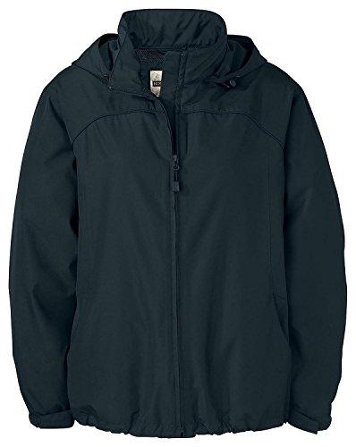 North End Womens Techno Lite Jacket (78032) -BLACK 703 -S