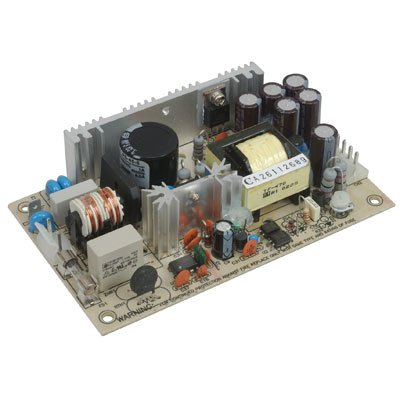 Mean Well PS-45-5 Open-Frame Switching AC-to-DC Power Supply, Single Output, 5V, 0-10.5A, 40W, 1.1