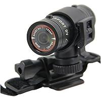 Eoncore Mini Sports Camera 1080P Full HD Action Waterproof Sport Helmet Bike Video Camera DVR AVI Video Camcorder for Climbing Skiing Riding + Free 4GB TF Card