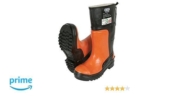 Oregon 295385/45 - Bota de seguridad de goma protectora yukon motosierra: Amazon.es: Bricolaje y herramientas