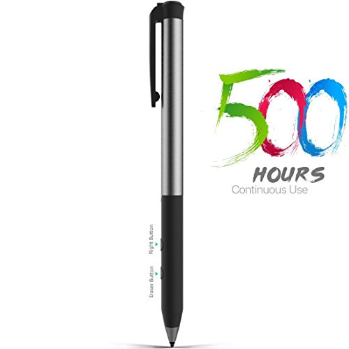 Microsoft Certified Surface Pen, Stylus Pens with 4096 Pressure Sensitivity, Supporting 500-Hour Playing Time 180-Day Stand-by, Built-in Battery Active Styli Touchscreen Pen for Surface Series by Heiyo (Image #7)