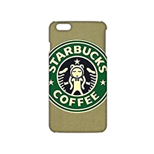 ANGLC Starbucks Logo (3D)Phone Case for iphone 6 plusd 5.5