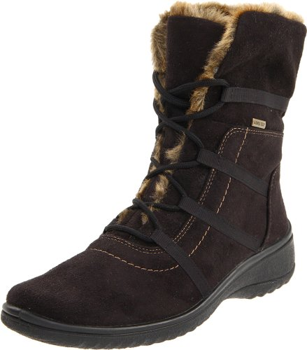 Gore Boot Suede Tex (ara Women's Magaly Boot,Black Synthetic Suede,6 W US)