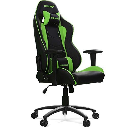 Gaming Chair AKRACING Nitro - negro/verde
