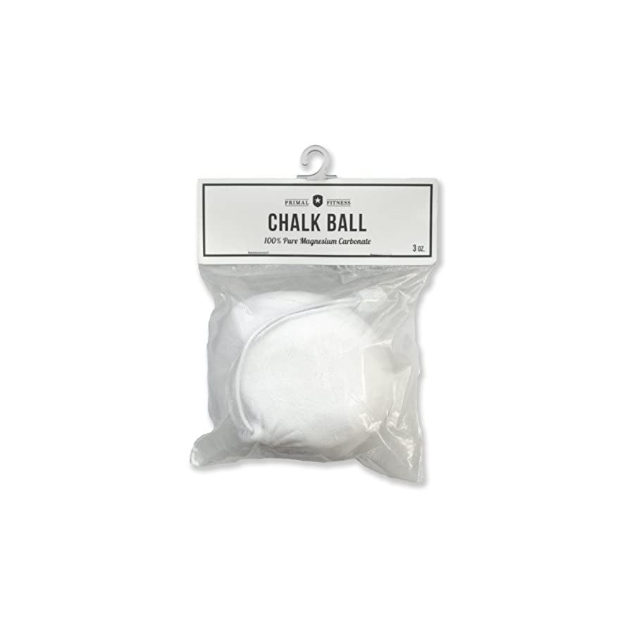Primal Fitness 3 oz. Refillable Gym Chalk Ball