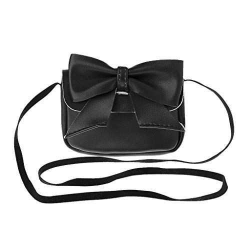 Bowknot Kids Lovely Bandoulière Portefeuille Girl à Messenger Petit Sac Senoow Purses Crossbody Black qZBtwUWw