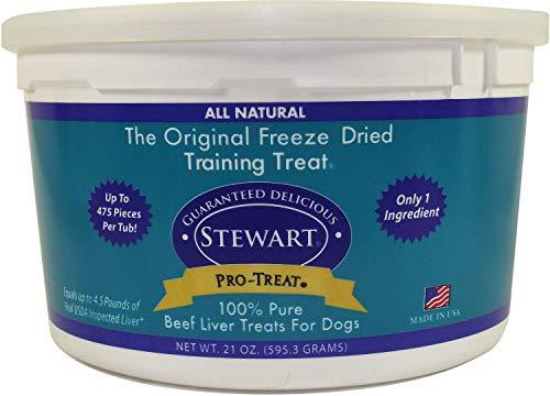 Stewart Pro-Treat Beef Liver Freeze-Dried Treats 7.875lb (6 x 21oz) ()