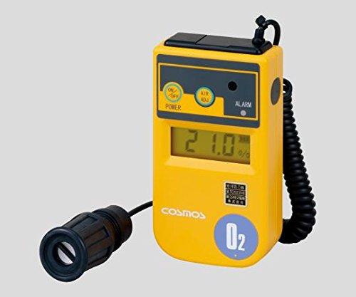 新コスモス電機1-8752-02酸素濃度計1m(カールコード式)XO-326ⅡsB B07BD2XM5X