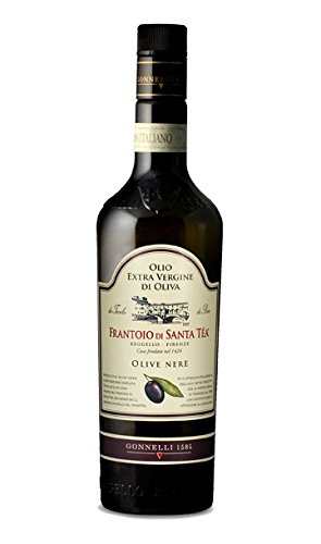 - Frantoio di Santa Tea Extra Virgin Olive Oil Green Olives 17 Fl. oz