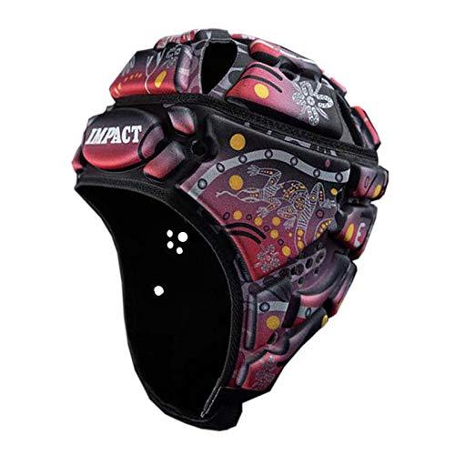IMPACT (インパクト) ラグビーヘッドキャップ インディジナス ブラック  X-Small