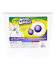 Crayola 904 gm Model Magic Bucket, White, School and Craft Supplies, Gift for Boys and Girls, Kids, Ages 3,4, 5, 6 and Up, Arts and Crafts, Gifting
