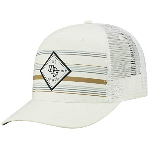 Golf Florida Central Gear - Top of the World Central Florida Knights Official NCAA Adjustable 36th Ave Hat Cap Curved Bill Mesh 390475