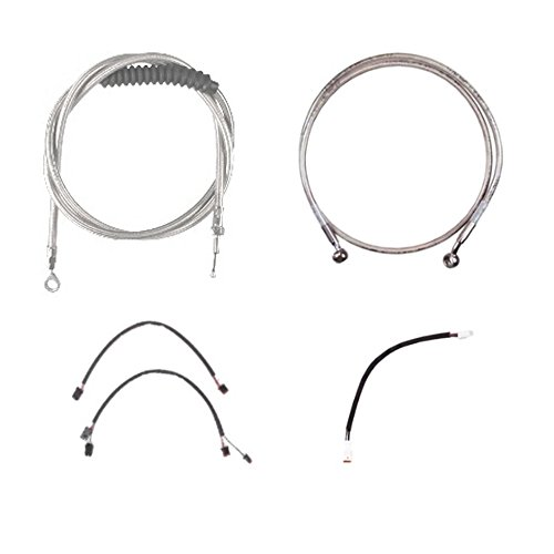 Hill Country Customs Complete Stainless Cable Brake Line Kit for 20