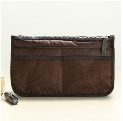 black della borsa Lyuboov cosmetico 12 Coffee di il sacchetto corsa dell'organizzatore inserisce tasche 0PnY0x