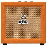 Orange Amplification Crush Mini 3-Watt Battery Powered Guitar Combo Amplifier (Orange)