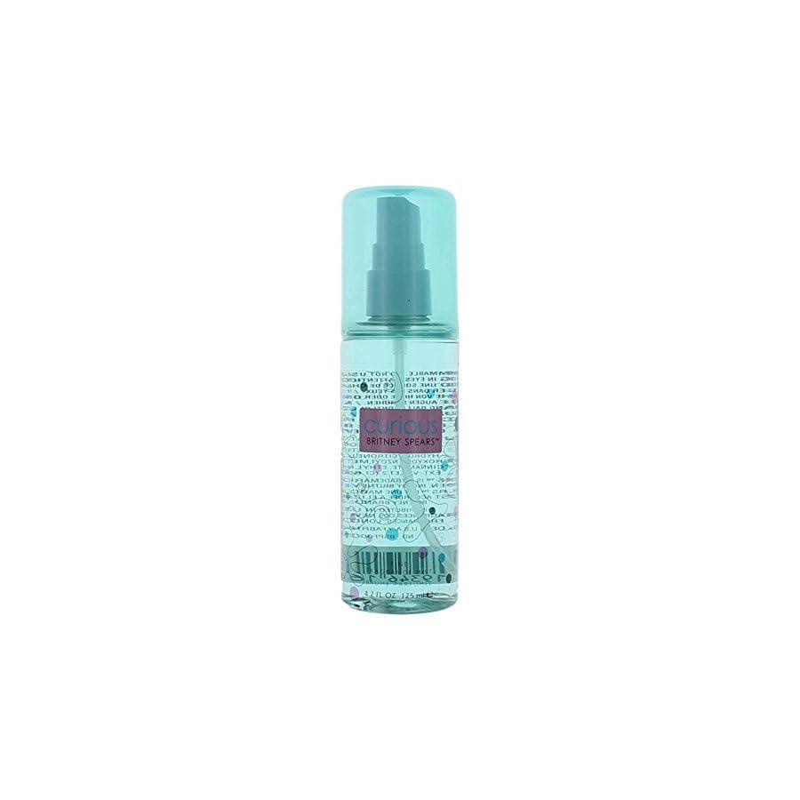 Britney Spears Curious Women's Fine Fragrance Mist, 4.2 Ounce