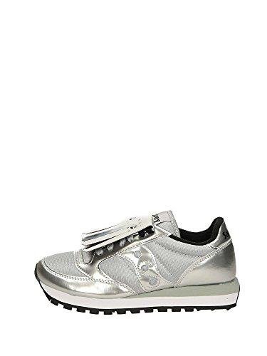 Bassa Jazz Argento Donna Saucony Sneakers c8x41AqwB6
