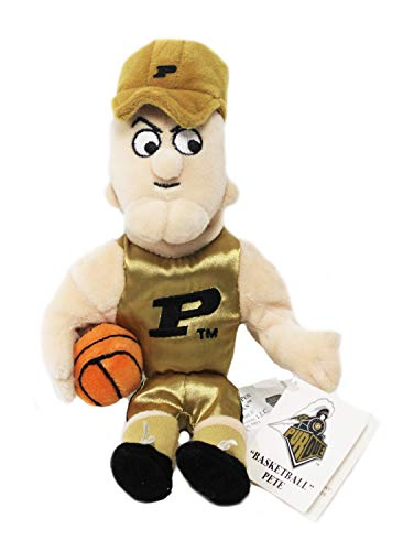 Basketball Purdue Pete Plush College Mascot Bean Bag Stuffed Doll Collectible
