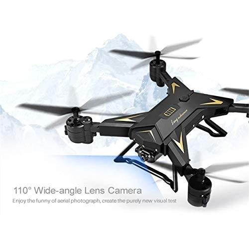 KY601S 1080Wカメラ重力感20分再生時間デュアルバッテリードローン(カラー:ブラック)