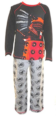 Doctor Who Little Boys Pyjamas ages 5-6 (Dr Who Pajamas Kids)