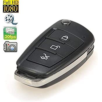Amazon.com : 808 Keychain Camera HD - Mini Hidden Camera Spy ...