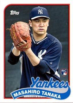2014 Topps Archives Baseball 241 Masahiro Tanaka Rookie